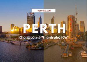Perth không còn là thành phố lớn