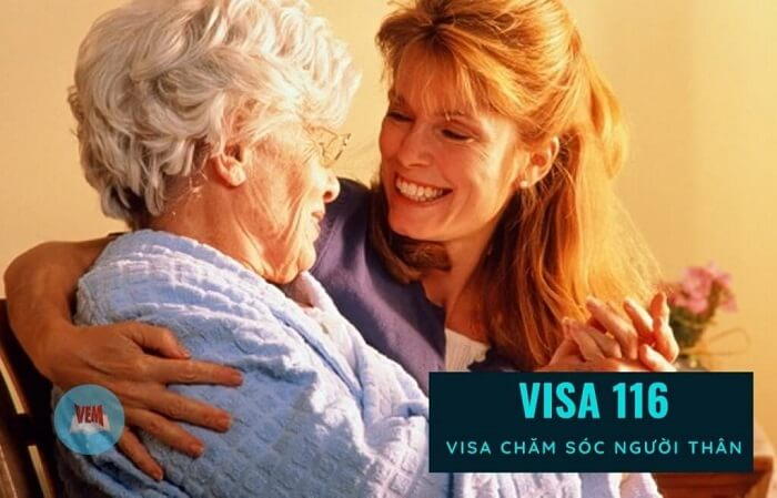 Visa 116 giúp bạn có thể đến Úc vừa chăm sóc người thân