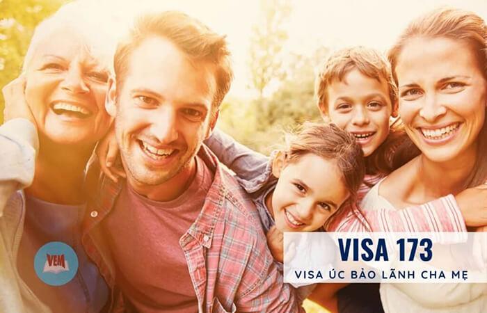 visa 173 bảo lãnh cha mẹ