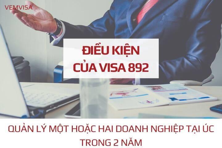 Những quy định của visa 892