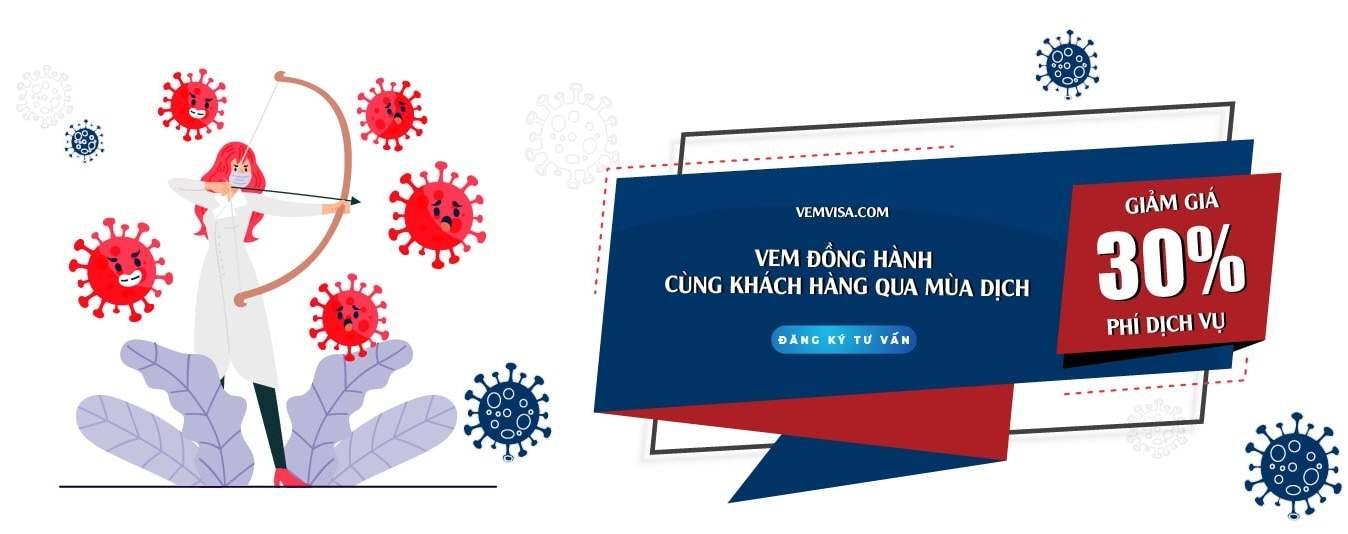 khuyến mãi dịch vụ visa úc tại VEM